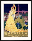 Sevilla Reproduction giclée encadrée par Estela