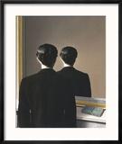 La Reproduction interdite, 1937 Reproduction encadrée par Rene Magritte