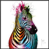 Zebra Pop Reproduction encadrée par Patrice Murciano