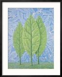 La belle saison Reproduction encadrée par Rene Magritte