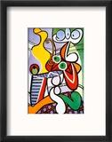 Nude and Still Life, c.1931 Reproduction encadrée par Pablo Picasso