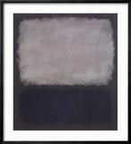 Blue & Gray, 1961 Reproduction encadrée par Mark Rothko
