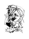 Courtney Love - New Yorker Cartoon