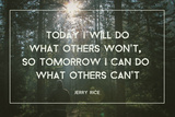 Today's Won't For Tomorrow's Can't