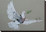 Dove Tableau sur toile par Banksy