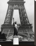 La Tour Eiffel En Liberté, 1969 Tableau sur toile par Robert Doisneau