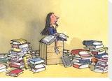 Matilda Tableau sur toile par Quentin Blake