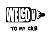 Welcome Crib White