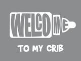 Welcome Crib Grey