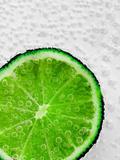 Lime Underwater Bubbles