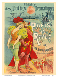 All Paris in the Revue - Theatre des Folies Dramatiques - by MM Blondeau & Monréal