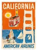 California - San Francisco Cable Car  Golden Gate Bridge - American Airlines