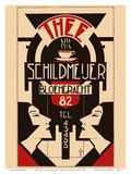 Thee (Tea) - Schildmeijer Cafe - Amsterdam  Netherlands - Art Deco