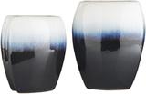 Harris Squared Vase Pair