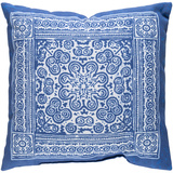 Indigo Mandala Pillow