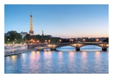 Twilight on the Seine