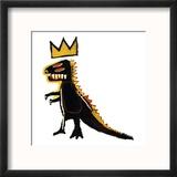 Distributeur de Pez, 1984 Reproduction encadrée par Jean-Michel Basquiat
