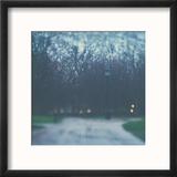 Bleak Bare Trees Reproduction encadrée par Laura Evans