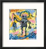 Sans titre Reproduction encadrée par Jean-Michel Basquiat