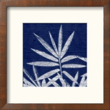 Bamboo Shibori Reproduction encadrée par Meili Van Andel