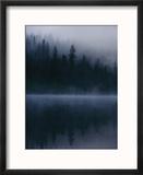 Scenic View Near Mount Shasta Reproduction encadrée par Michael Nichols