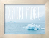 Explore More Reproduction encadrée par Leah Flores