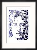 Lennon, John Reproduction encadrée par Cristian Mielu