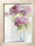 Glowing Bouquet I Reproduction encadrée par Grace Popp