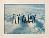 Fly Away Clouds Reproduction encadrée par Leah Flores
