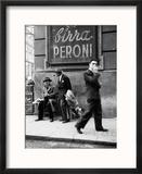 Men in a Street of Napoli