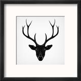 The Black Deer Reproduction encadrée par Ruben Ireland