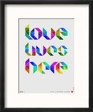 Love Lives Here Poster
