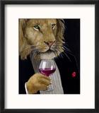 The Wine King Reproduction encadrée par Will Bullas