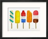 Popsicles Reproduction encadrée par Cat Coquillette