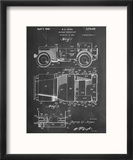 Willy's Jeep Patent Reproduction encadrée