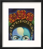 Frida Reproduction encadrée par Carla Bank