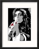 Amy Winehouse Reproduction encadrée par Emily Gray