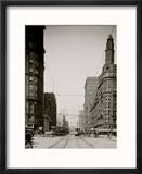 Euclid Avenue, Cleveland, Ohio Reproduction encadrée