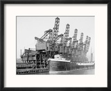 Hoover and Mason Clam Shell Hoists, Cleveland, Ohio Reproduction encadrée