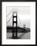 Pont du Golden Gate, San Francisco Reproduction encadrée par Federica Gentile