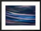 Blue Ice Morning Reproduction encadrée par Ursula Abresch