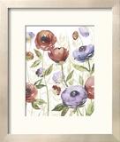 Jeweltoned Blossoms I Reproduction encadrée par Grace Popp