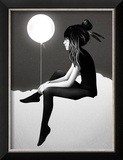 No Such Thing as Nothing by Night Reproduction encadrée par Ruben Ireland
