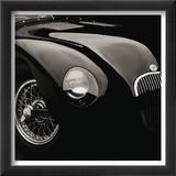 Jaguar C-Type Reproduction encadrée par Retro Classics