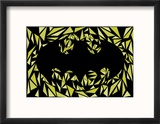 Batman Symbol Reproduction encadrée par Cristian Mielu