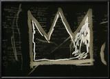 Tuxedo, 1982-83(detail) Reproduction encadrée par Jean-Michel Basquiat