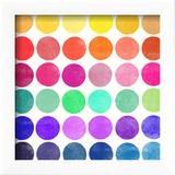 Colourplay 6 Reproduction encadrée par Garima Dhawan