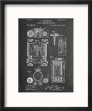 First Computer Patent 1889 Reproduction encadrée