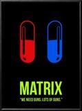 Red Pill or Blue Pill Reproduction encadrée par David Brodsky