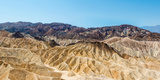Panoramic View  Badlands  Death Valley National Park